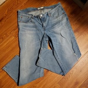 Levi's 31 waist boyfriend jeans